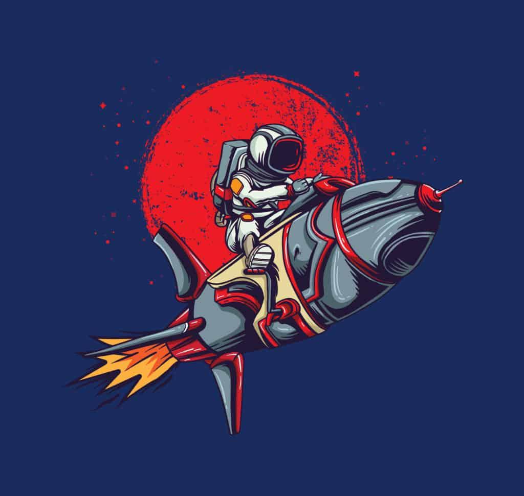Astronaut Rocket