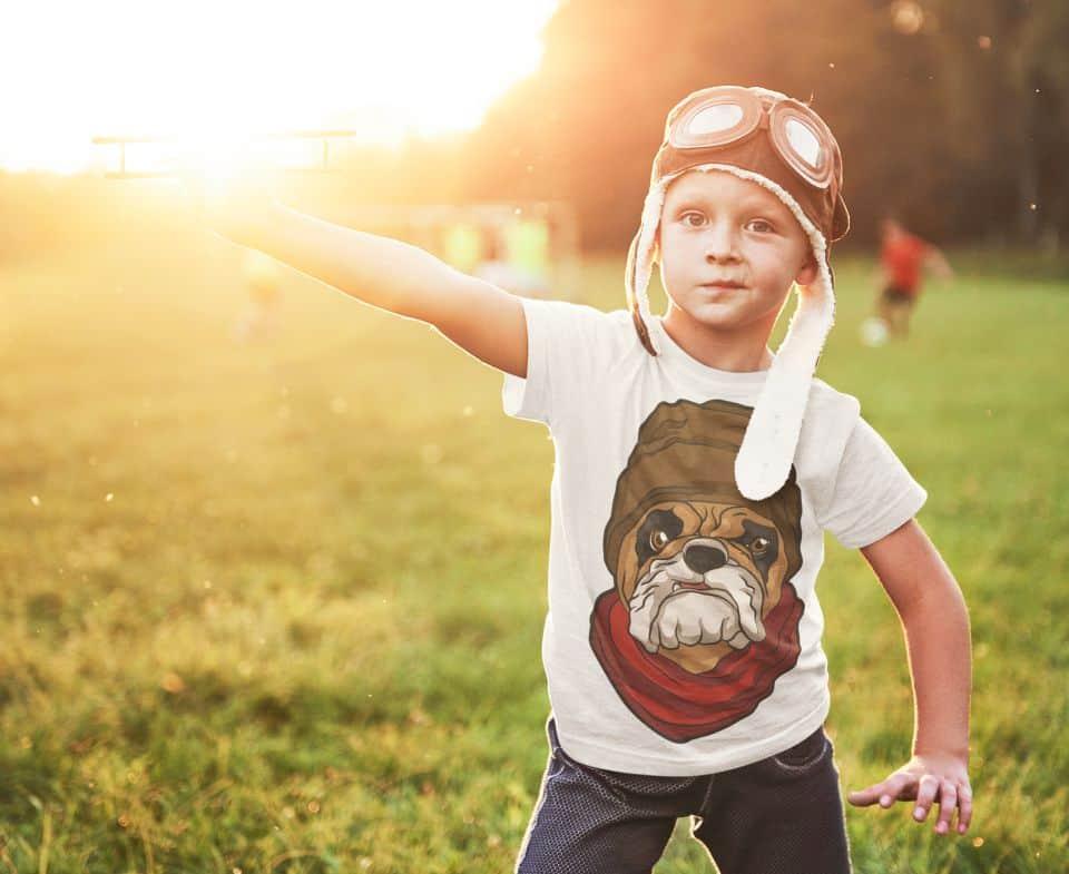 Gangster Dog Tshirt Mock Up