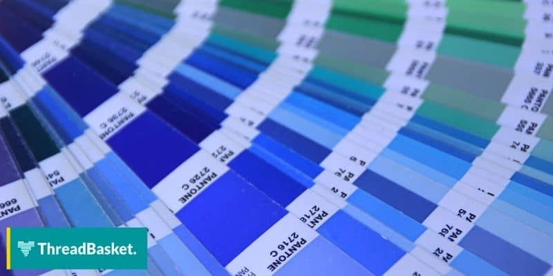 color trend pantone swatches
