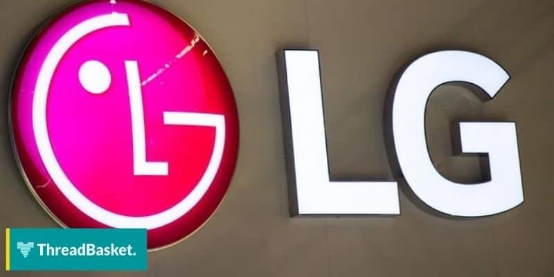Image of an LG storefront logo