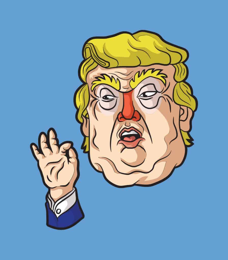 Clogged Trump
