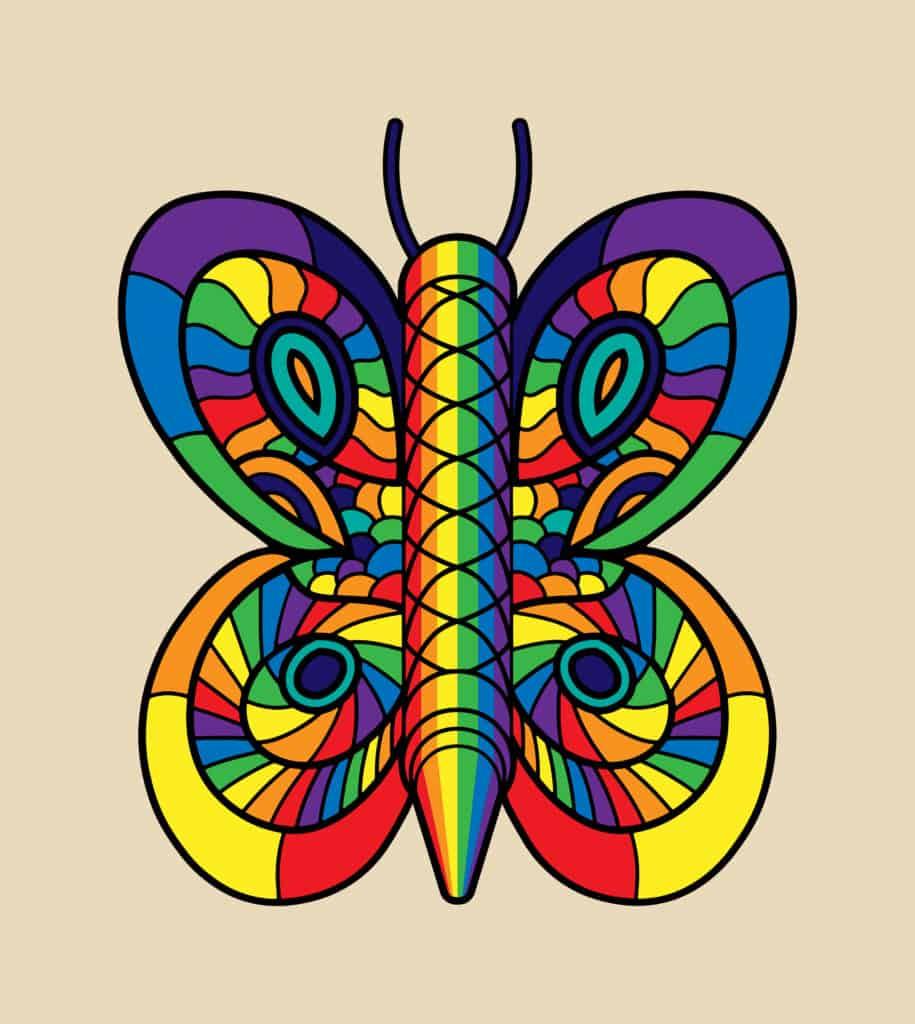 Rainbowtterfly
