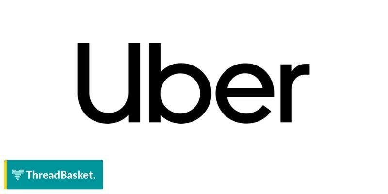 image of Uber logo on white background