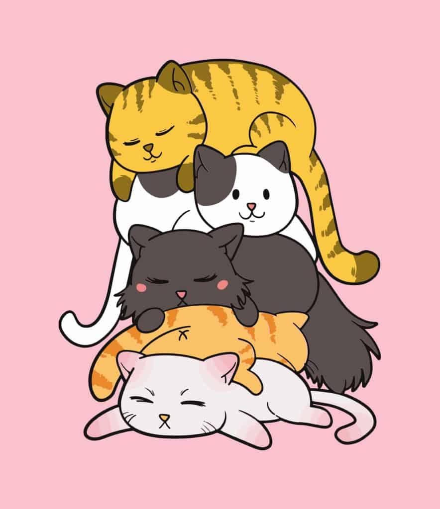cat pile cat design