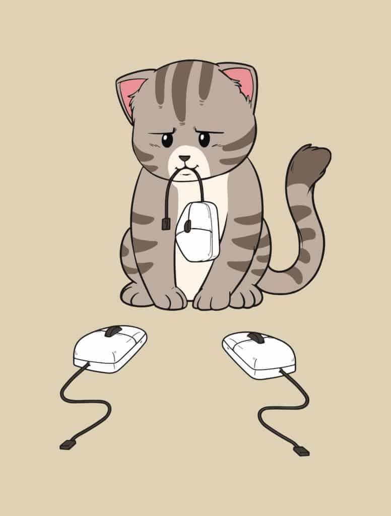 cat vs mice design